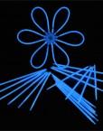 Knicklichter-blau